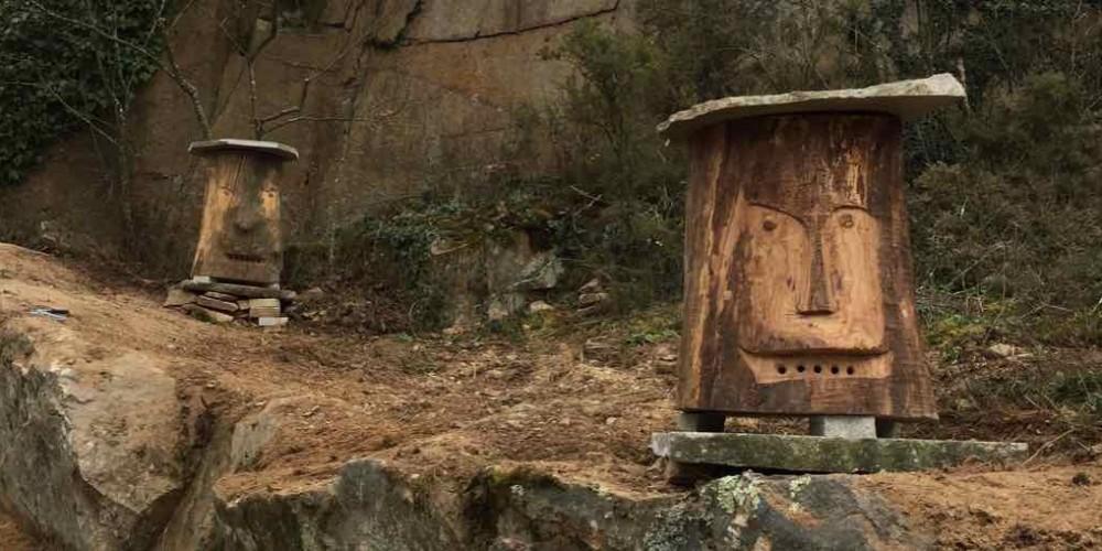 Les ruches Moaï attendent leur locataires